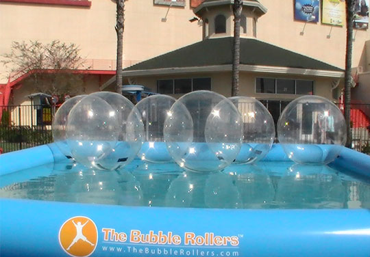 Portable water themed entertainments the bubble rollers products altavistaventures Choice Image